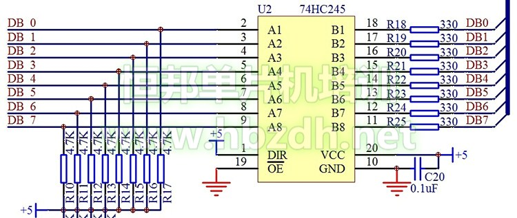 单片机电路中的三极管与负载驱动