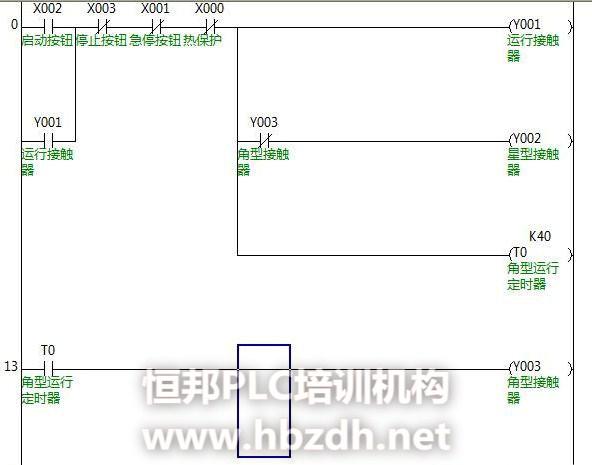 继电器控制电路转换成plc梯形图的方法